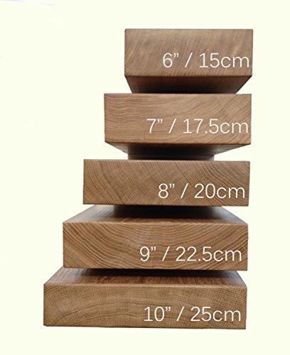 Premier Shelves Solid Oak Floating Shelf 10 Inch Depth X 2