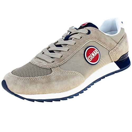COLMAR TRACOL graue Blaue graue Blaue Schuhe Turnschuhe Mann Schnürsenkel 43