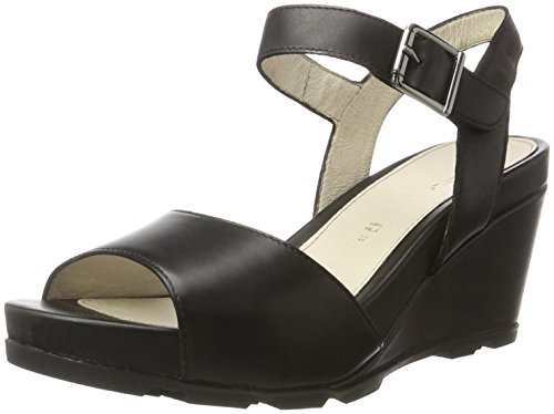 Stonefly Anita 1, Sandales Bout Ouvert Femme Noir (Nero 000)
