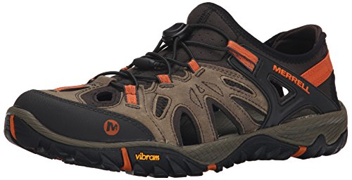 Brown Waxy Leder (Merrell Herren All Out Blaze Sieve Trekking- & Wanderhalbschuhe, Braun (Light Brown), 43.5 EU)