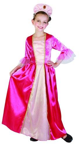 Costume da principessa di corte per bambina 10/12 anni (140/152)