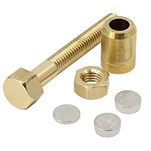 Aussel New Props Autorotation Rotating Nut Off Bolt Screw Close Up Magic Gimmick Trick by Aussel