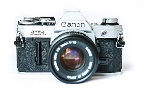 Canon AE-1 Analoge Spiegelreflexkamera inkl. Objektiv 70-210 mm (Vintage Canon-film-kamera)