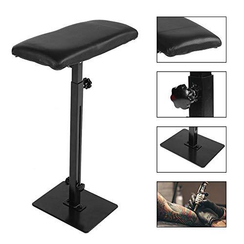 Tattoo Armlehne, Professional verstellbare Höhe Arm Beinstütze für Studios oder Home Heavy Duty Stand Stuhl Tattoo Hocker Kit Supply schwarz