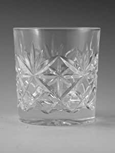 Edinburgh en cristal Duo de lampes de Whisky verre 7,6cm (2e)