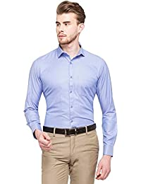 STOP to start STOP by Shoppers Stop Mens Slim Collar Stripe Shirt