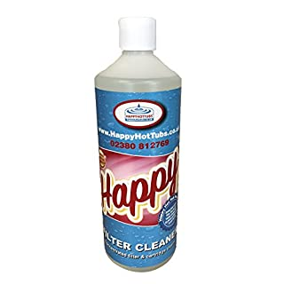 Happy Hot Tubs 1lt Concentrate Filter Cartridge Cleaner Hot Tub Pool
