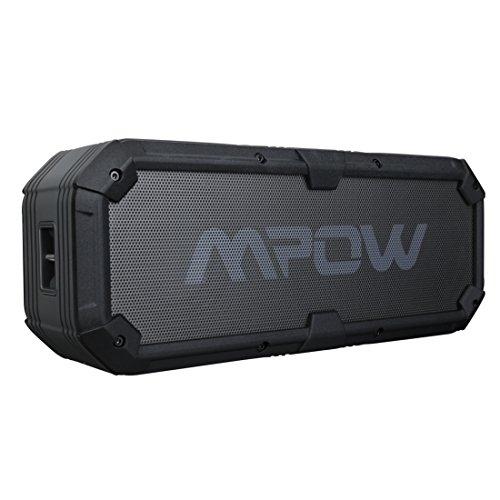20W Altavoz Bluetooth 4.0 Impermeable,Salida USB 5V/2A,Betaría de 5200mAh,con Unos Graves Potentes y Reproducción Constante de 22 Horas.