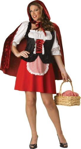 Elite rot Riding Hood Plus Kostüm für (Red Riding Hood Kostüm Plus)