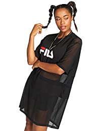 Fila Abito Donna Nero Women Emily Tee Dress 682110 002 c1da754eebf