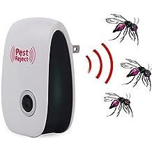 caidi Ultrasonido electrónico 5 w AC 90-220 v repelente de plagas para roedores y insectos vende como mosquitos de ratón tapones cucaracha más mejores productos de control de plagas en el interior.