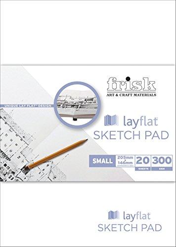 frisk-lay-flat-blocco-per-schizzi-formato-a5-205-x-146-mm-20-pagine-bianco