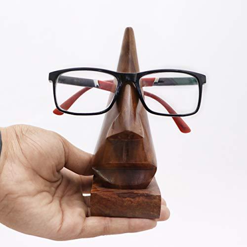 Muttertags Special Einzigartige Geschenke Geschenk aus Holz Klassische Hand geschnitzte Palisander nasenförmigen Brillen Spectacle / Brillen-Halter,