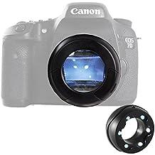 Micnova MQ-7X Lente sensore a 6-LED illuminati con ingrandimento 7x per Canon 6D 600D 5D2 (7x Sensor Loupe)