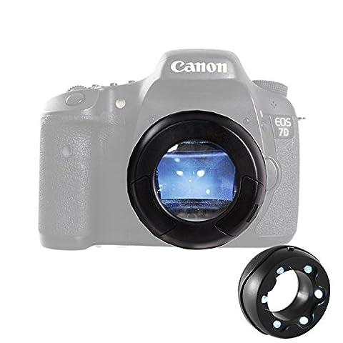Micnova MQ-7X capteur Loupe avec poussière éclairante Bright LED de pour Canon Nikon Sony Gopro (7x Sensor Loupe)