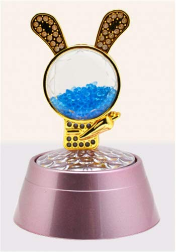 WGE Rabbit Spin Projektion Spieluhr Duftenden Perlen Spieluhr Romantischen Sternenhimmel Spieluhr Valentinstag Geburtstagsgeschenk, 2