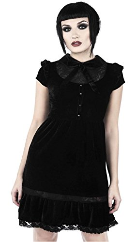 Killstar -  Vestito  - Basic - Maniche corte  - Donna Nero