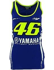 Valentino Rossi VR46 Moto GP M1 Yamaha Racing Mujer Tank Top Oficial 2017