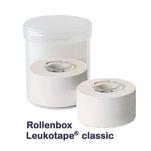 A13000R2  Rollenbox Leukotape® classic, 2 Rollen à 3,75 cm x 10 m