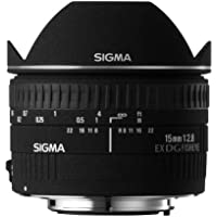 Sigma 15 mm F2,8 EX DG Diagonal Fisheye-Objektiv (58 mm Filtergewinde) für Sigma Objektivbajonett