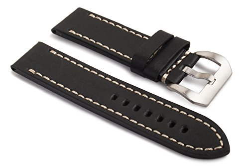 watchassassin-genuine-leather-black-white-stitch-watch-strap-including-buckle-24mm
