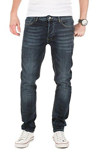 Yazubi Herren Jeans Akai slim fit, vintage indigo (3929), W30/L34 (Denim Herren-slim-fit Jeans Indigo)
