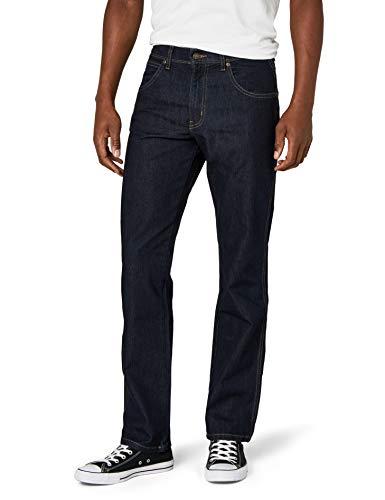 Wrangler Herren Tapered Jeans Regular Fit Str, Blau, Gr. W36/L34 -
