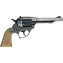 Villa Giocattoli - 1592 - Pistolet 8 Coups - Alabama - Vieux métal