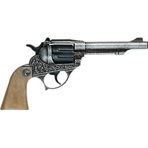 Villa Giocattoli Pistola in Metallo Alabama, Colore Grigio Anticato, 1592 2 spesavip