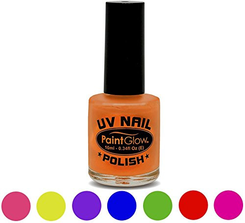 Smiffys 46025 - UV-Nagellack, 12 - Kostüm One Night Stand