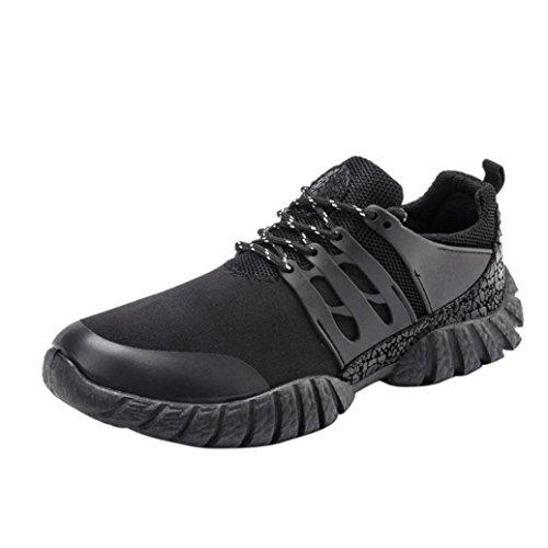 Baskets FantaisieZ Chaussures de Gymnastique Croisées Résistantes Chaussures d'escalade de Couleur Unie pour Homme Sneakers pour Hommes