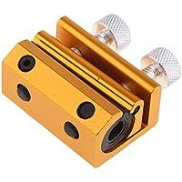 MagiDeal Cable Doble Luber Abrazadera Lubricador de Engrasador Vehículos - naranja