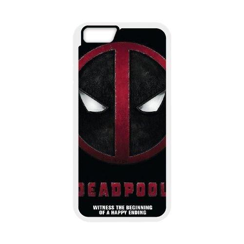 Deadpool coque iPhone 6 Plus 5.5 Inch Housse Blanc téléphone portable couverture de cas coque EBDXJKNBO12199