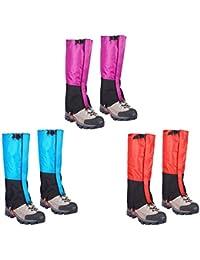 Cubierta De Zapatos Legging Polainas A Prueba De Vientos Arena Nieve Impermeable Súper Ligero Duradero para