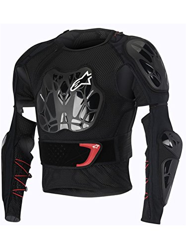 Alpinestars Black-White-Red 2016 Bionic Tech MX Protection Jersey