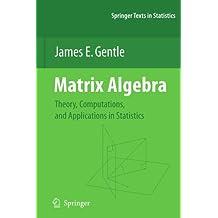 Matrix Algebra