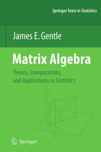 Matrix Algebra: Theory, Computations, and Applications in Statistics (Springer Texts in Statistics) (English Edition)