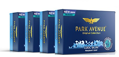 Park Avenue Cool Blue Fragrant Soap, 125g (Pack Of 4) 1