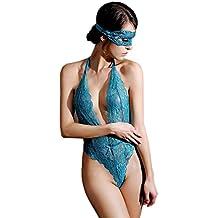 Yuson Girl® Unterwäsche Damen, Lingerie Bei Nacht für Frauen Babydoll Spitze Nachtwäsche Dessous Sets Damen Dessous Sexy