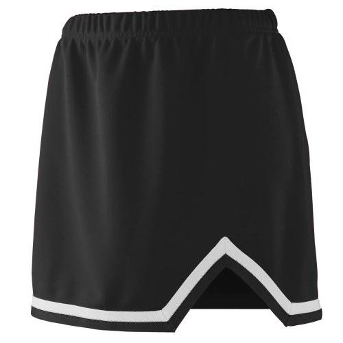 (Girls' Energy Skirt BLACK/ WHITE XS)