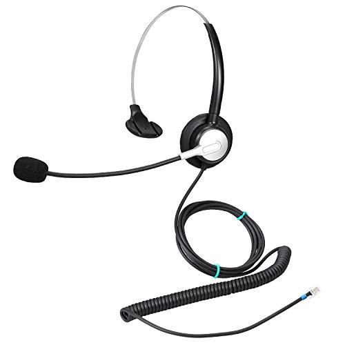 Ymate - Auriculares de Diadema con micrófono
