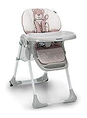 Idea Regalo - Foppapedretti Meeting Seggiolone, peso massimo 15 kg, per Bambini da 6 a 36 mesi,Teddy
