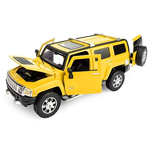 IVNGRI-Auto Model 1:24 Maßstab Hummer H3 Modellauto Druckguss Fahrzeug Simulation Spielzeug Ornamente, 19.3x8x7.5CM (Nissan Model Auto Kit)