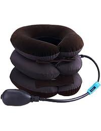 Cartshopper Portable Neck Pillow Three Layers Tractor Massager Excerciser For Cervical Spine Neck Back Shoulder Pain