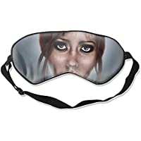 Schlafmaske, künstlerischer Frauen-Druck, verstellbarer Kopfband, Augenmaske preisvergleich bei billige-tabletten.eu