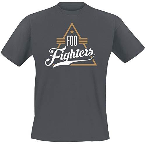 Foo fighters triangle t-shirt grigio sport l