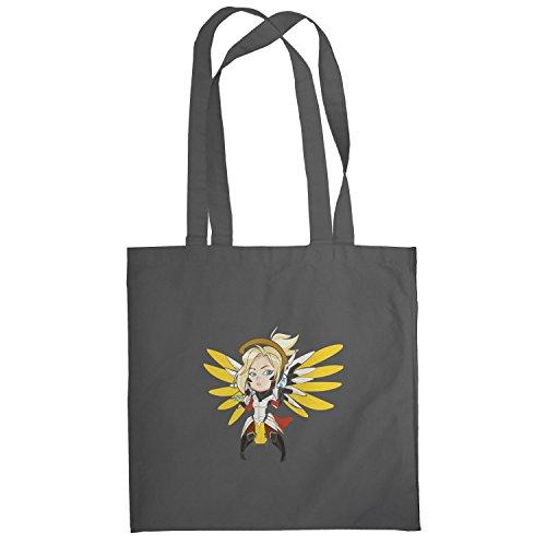 Texlab–Angel Wings–sacchetto di stoffa Grau