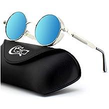 gafas redondas de sol - Amazon.es