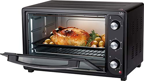 Jata HN936 Horno de sobremesa, 4 funciones: rotisserie, horno, grill y convección, Capacidad: 36 litros...