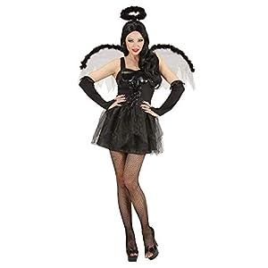 WIDMANN Widman - Disfraz de halloween ángel para mujer, talla 38 (86842)